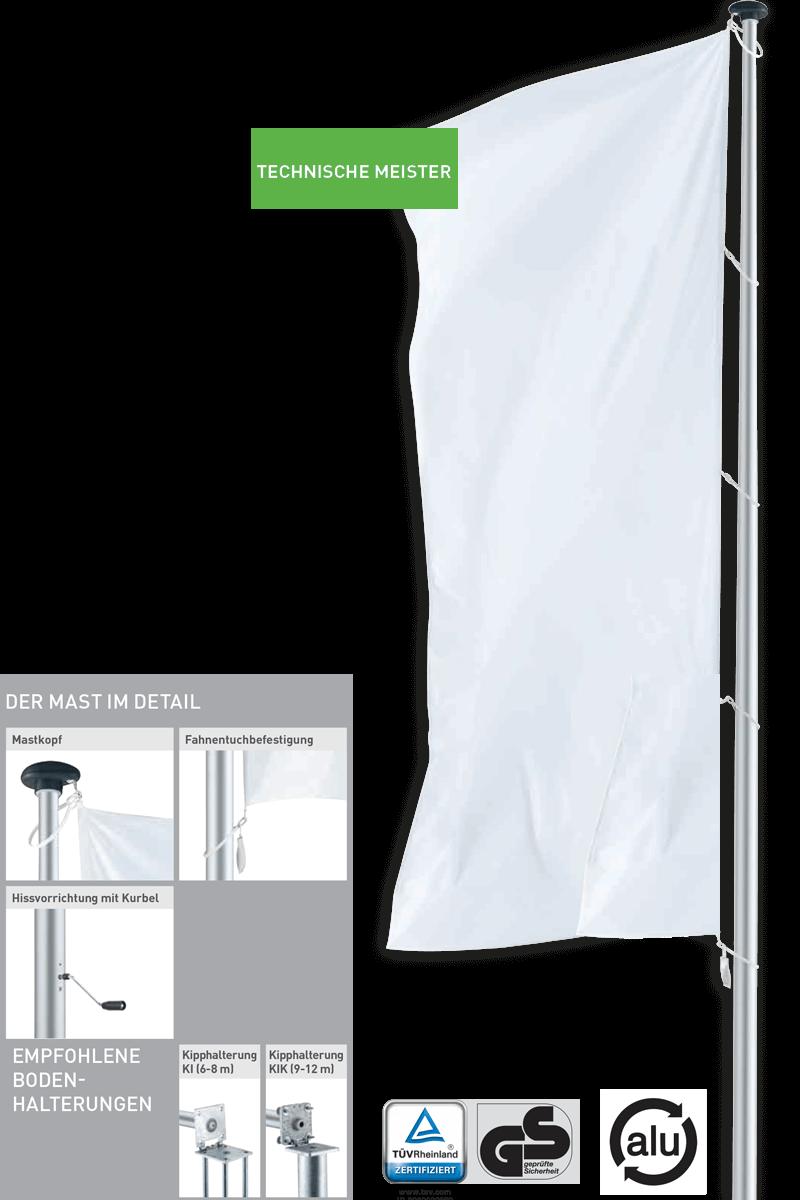 Premium Masten Technische Meister Taifun