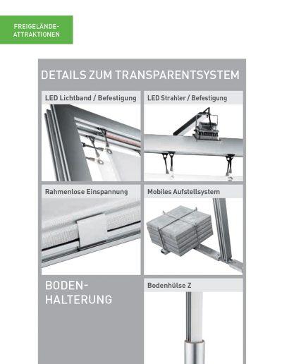 Transparentsysteme Passat Details